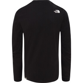 The North Face Simple Dome Maillot manga larga Hombre, tnf black